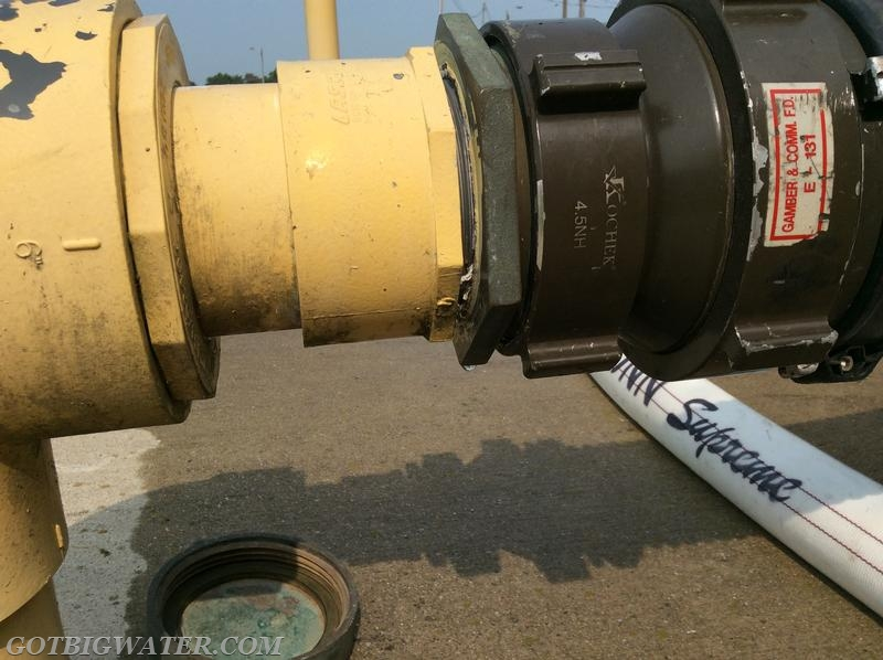 Dry fire hydrant repair maintenance replacing a