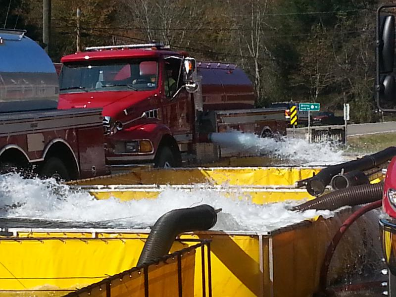 Did any one order 5,000 gals of water? Firovac demo & Guyan River 663