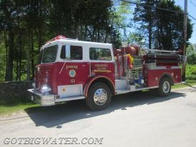 Nothing fancy here! However, the rig is set up quite nicely to function as an attack pumper and to make it easier on the pump operator and crew when doing so.