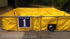"""Water Supply to Tanker 14, I need you to dump into Tank #1""  - Using these tank ID signs there is no doubt which dump tank is the #1 tank."