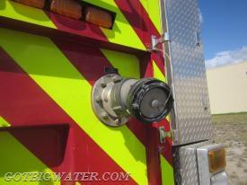 A 100mm Firemans Friend valve