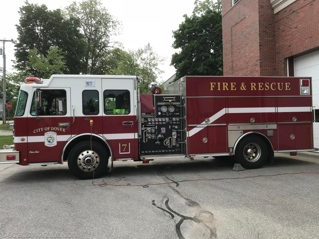Dover Engine 7 - 1500 gpm/1000 gal.