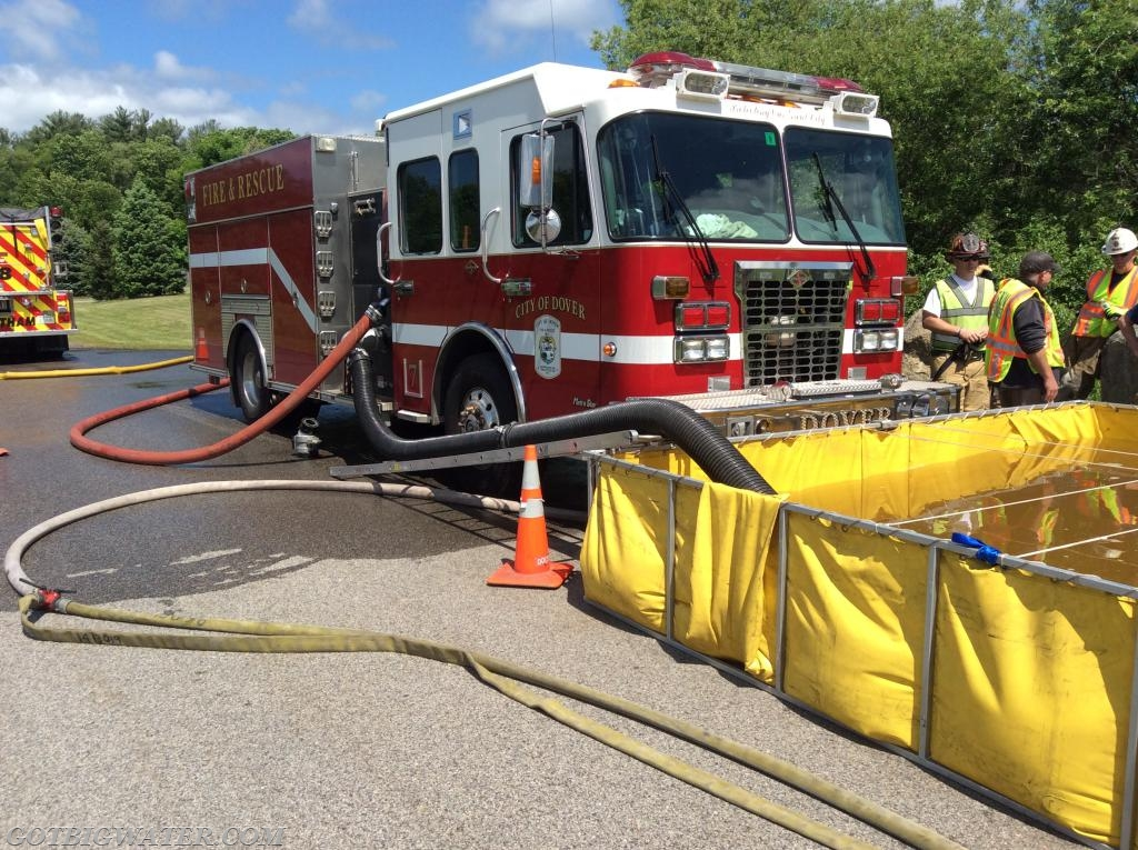 Dover Engine 7 practices fill site operations supplied using an open relay and Turbo Draft.