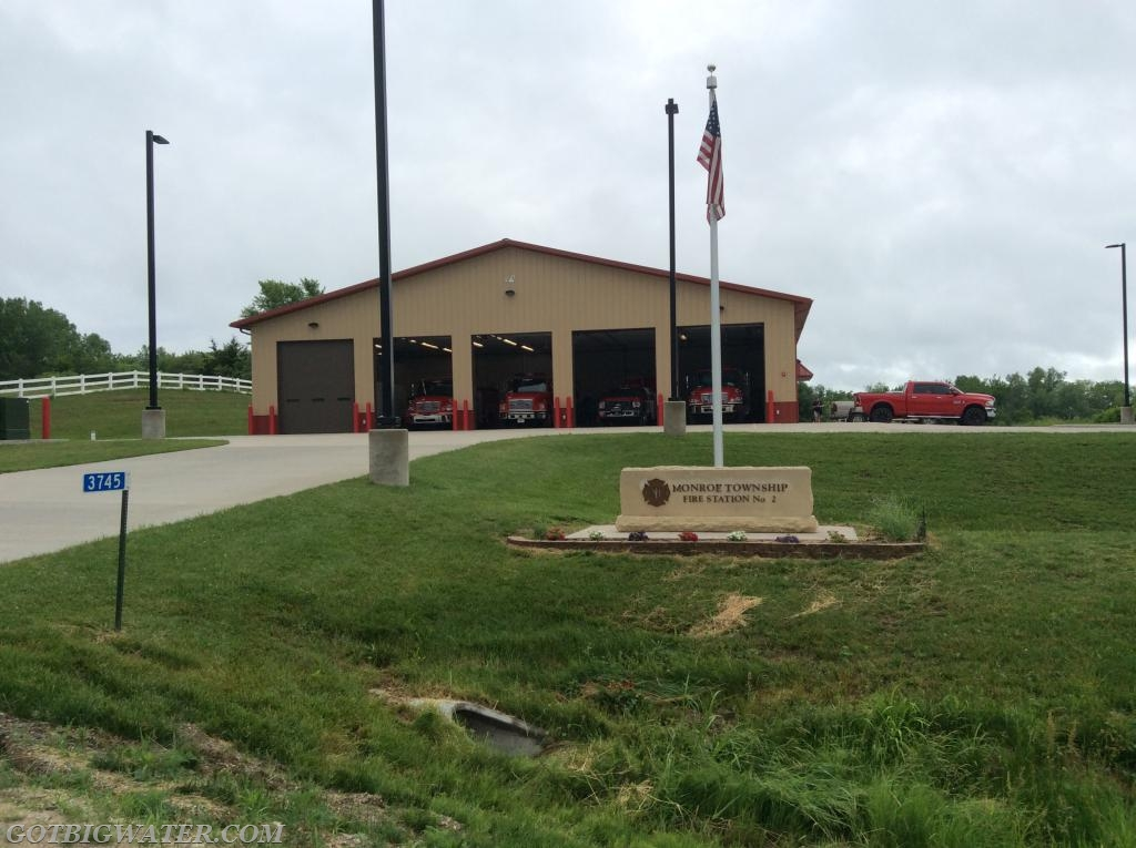 Classroom sessions were held at the Monroe Twp FD station in Toddville, Iowa.