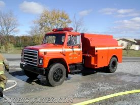 This small tanker was once a fuel truck making fuel deliveries. Does it have baffling sufficient for FD tanker operations?