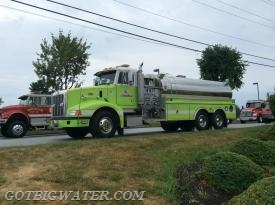 Avondale Tanker 23 (3500-gal) was the third arriving tanker on the initial alarm.