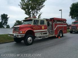 Cochranville Engine 27-1 operated as the second fill site engine.
