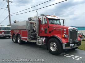 Longwood Tanker 25-1 responded as part of the first Tanker Task Force.