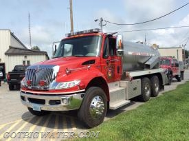 Sharpsville Tanker 43:  3000-gal tanker with 250 gpm pump and a 3000-gal dump tank.