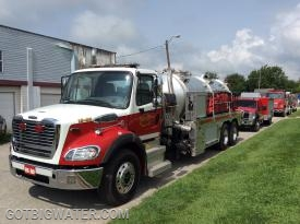 Bass Lake Tanker 15-85.  3000-gallons of water and a 750 gpm PTO driven fire pump.