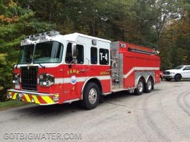 "Durham Tanker 4 attended the seminar and was used during the nurse tanker evolutions using the ""Rural Hitch"" set-up."