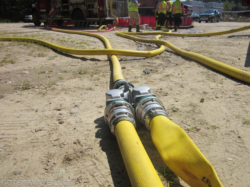 """When mutual aid operations involve companies that run 4"""" and 5"""" LDH, carrying the adaptors right on the appliances often makes good sense."""