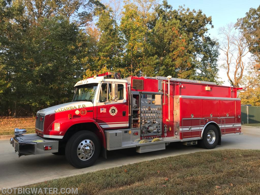 Catawba Engine 83 -  1500 gpm/1250 gal engine/tanker.