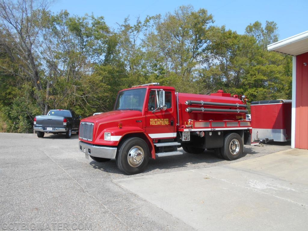 Rolling Hills Lakes Tanker 1 - 500 gpm/2000 gal