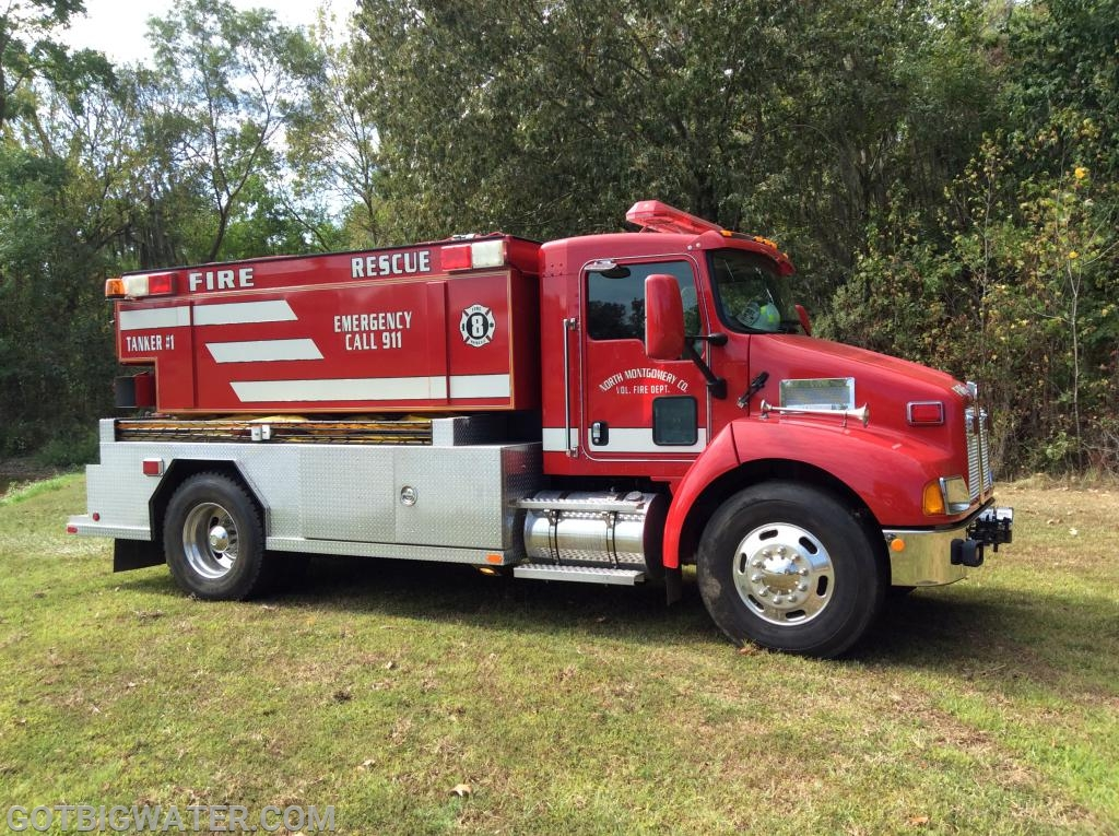 North Montgomery Tanker 1 - 500 gpm/2500 gal