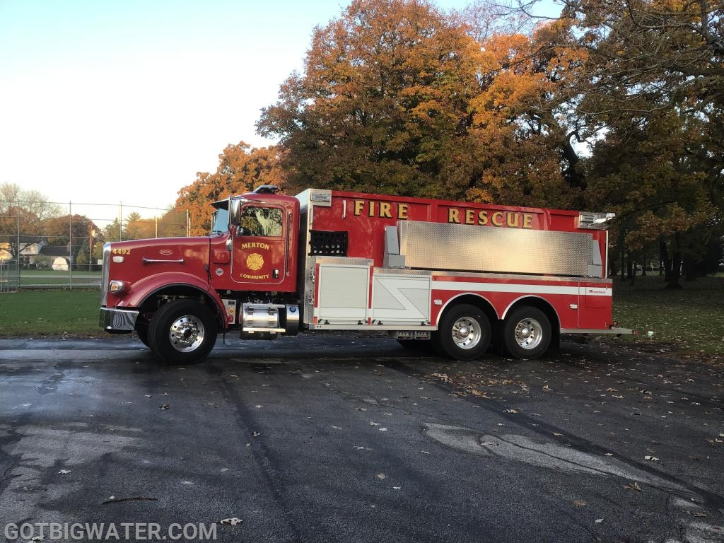 Merton Community Tender 4492 - 3000 gallons.