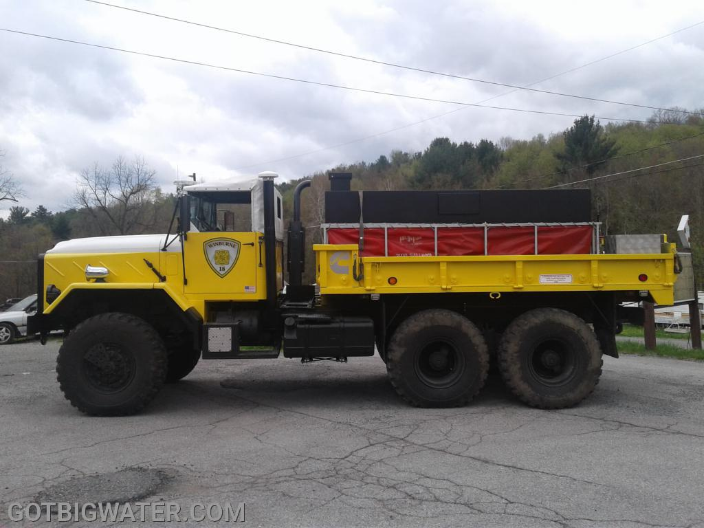 Local ingenuity produces a nice looking brush tanker in Clearfield County, PA.