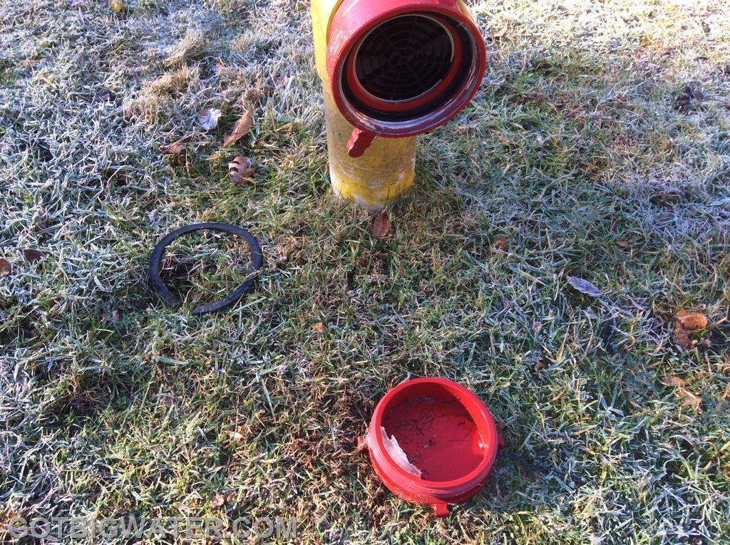 Ice formation from condensation can sometimes prove problematic when using female suction heads on dry fire hydrants.