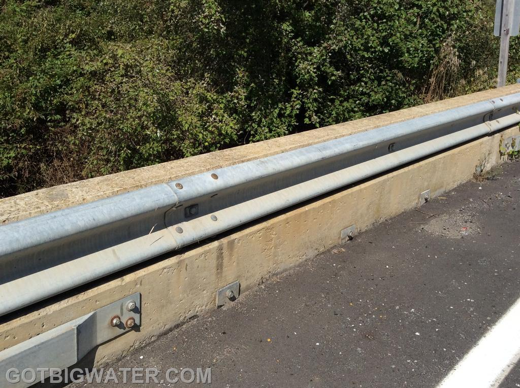 The guard rail system provided a bit of challenge but we were able work through the issue.