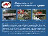 Bridge-Mounted Dry Fire Hydrants
