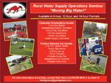 Rural Water Supply Operations Seminar
