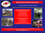 2014 Drafting Flyer